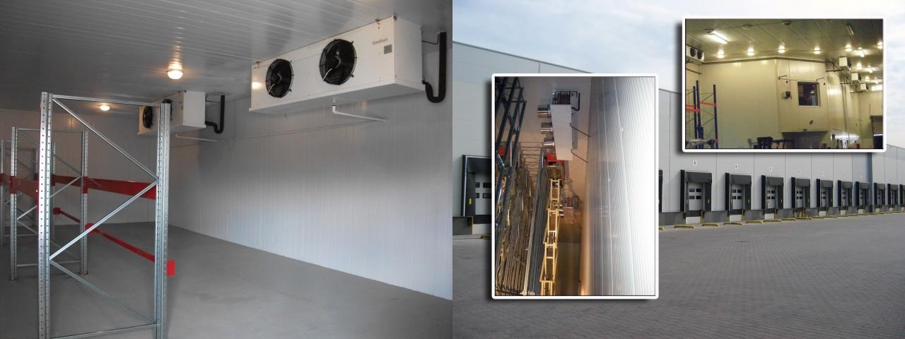 Холодильные камеры промышленные