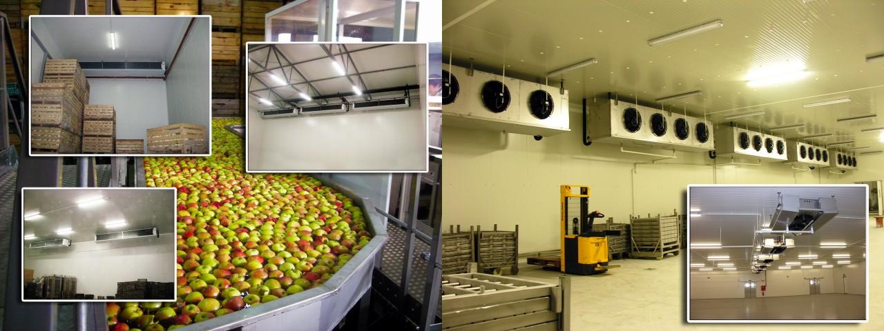 Оборудование для овощехранилищ