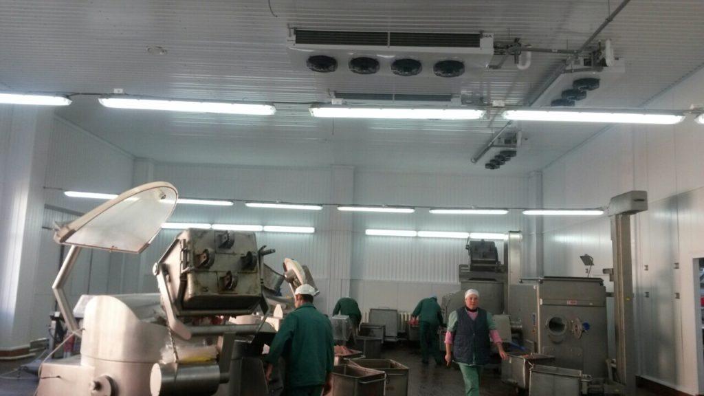 Промышленное кондиционирование пищевого предприятия